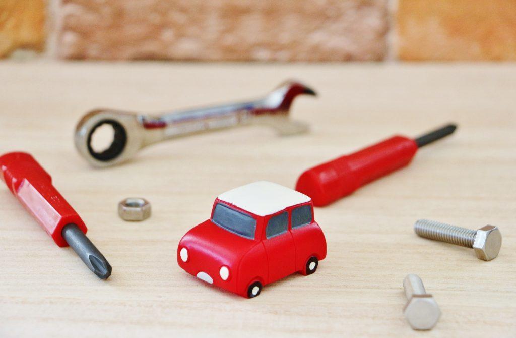 自動車検査のイメージ