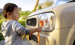 洗車(子供)